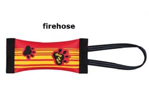 Fire Hose Dummy Durable & Floats with Bungee Cord Dog Toy